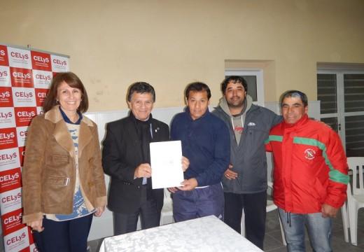 El Diputado Miguel Solís realizó aportes a instituciones de la region.