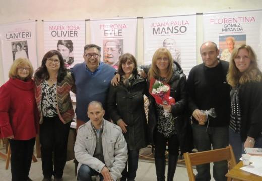 Montes de Oca cobijó al ciclo «Historias de Poetas Santafesinos».