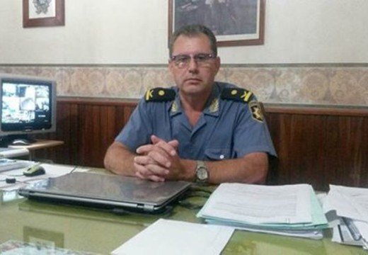 El Crio. Juan Carlos Suarez dejó la jefatura de la URIII.