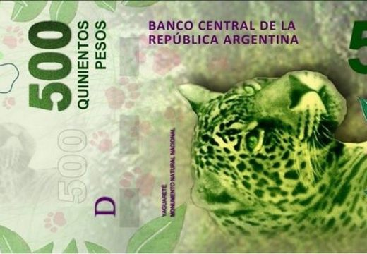 Ponen en circulación desde este jueves los nuevos billetes de $500.