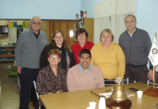 Rotary Club Armstrong, homenajeo a Herminia de Prato.