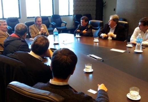 El Diputado Solis participo de un encuentro con directivos de SanCor.