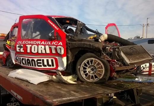Fernando Martino sufrió un horrible accidente en Paraná.
