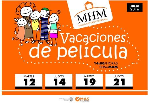 """""""Museo de Película"""" para estas vacaciones de invierno."""