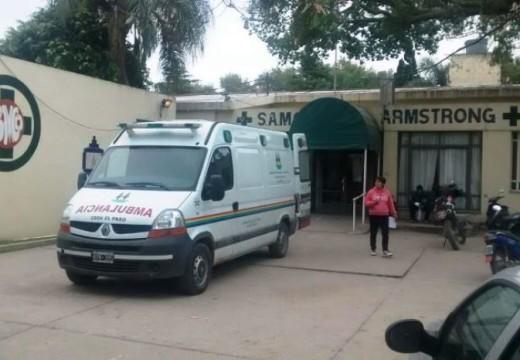 """""""El SAMCo de Armstong será receptor de infectados por COVID 19 que requieran cuidados intensivos""""."""