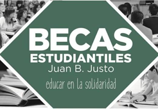 Abierta la inscripción del Programa de Becas Estudiantiles «Juan B. Justo».