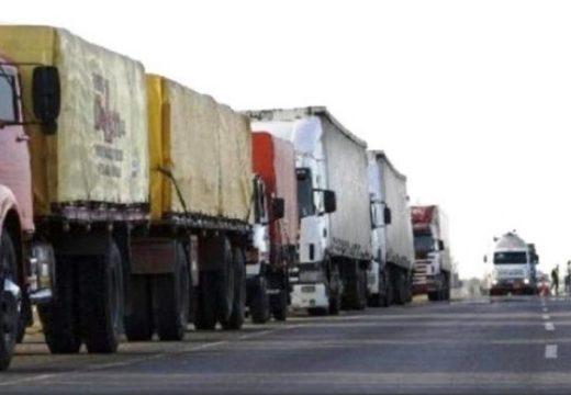 Transportistas de paro: no ingresan camiones a los puertos.
