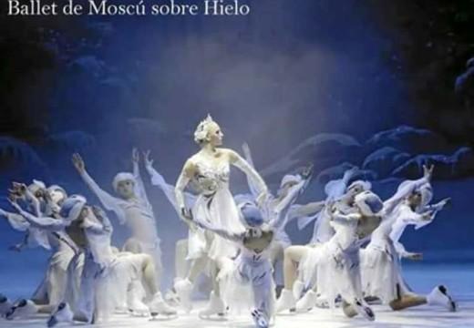 Hoy Ballet de Moscú sobre hielo en la Sala Iris Marga.