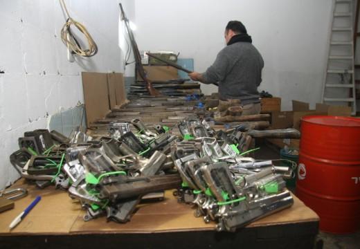 El Ministerio de Seguridad entregó armas para su destrucción al ANMAC.