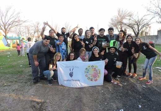 Armstrong. La Juventud Peronista festejo el Día del Niño.