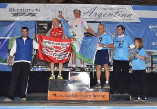 Se corrió la 14 ª  edición de la Maratón Delfo Cabrera.
