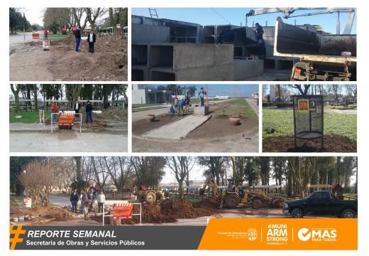 Armstrong. Reporte Semanal de Obras y Servicios Públicos 02/09/16.