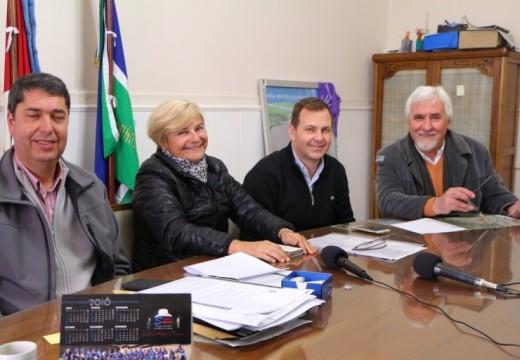 Cañada de Gómez. Municipio firmó convenio con FUDECA.