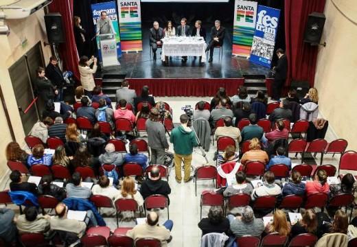 En Las Parejas se inició una nueva capacitación para personal de municipios y comunas.