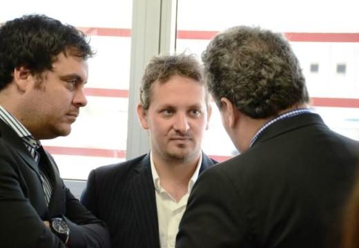 Diego Mansilla y Germán Bacarella participaron del almuerzo de FISFE en Pérez.