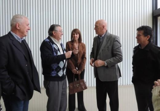 El Diputado Miguel  Solís acompaño a Bonfatti en Las Parejas.