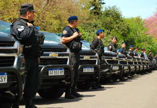 """Pullaro: """"Estamos equipando a nuestra policía, estamos cumpliendo"""""""