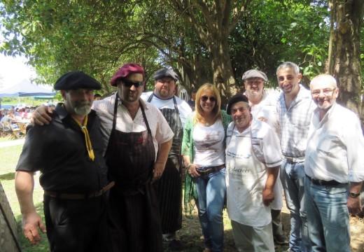 Los campeones de la Fiesta Pcial del Asado dijeron presente en San Jose de la Esquina.