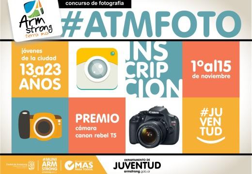"""Concurso de fotografía joven """"Armstrong Tierra Mía""""."""
