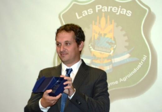 Diego Mansilla invitó a la 13° Muestra Nacional Agroindustrial de Las Parejas
