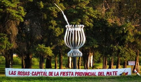 Este fin de semana:  Fiesta Provincial del Mate en Las Rosas