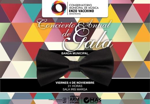 Armstrong. Concierto Anual de Gala Banda Municipal.