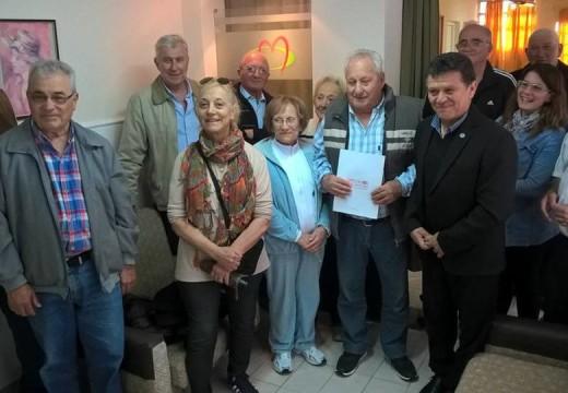 El Dip. Miguel Solís visitó instituciones de nuestra ciudad.