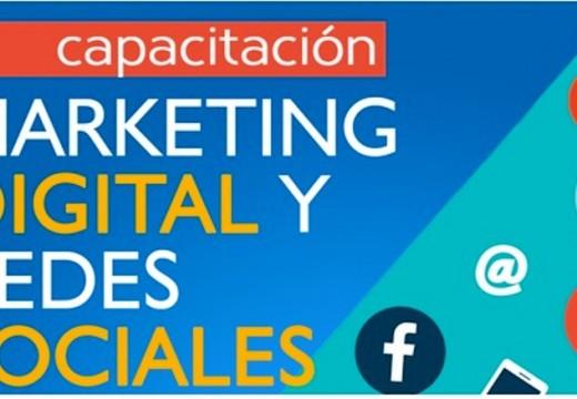 Curso de marketing digital y redes sociales.