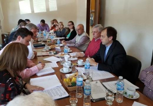 Rasetto participó de una reunión sobre la problemática del Carcarañá.