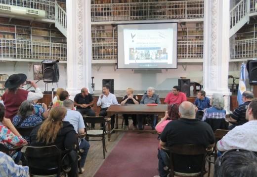 Los Poetas santafesinos dijeron presentes en la Biblioteca Argentina.