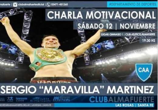 Maravilla Martínez estará en Las Rosas.
