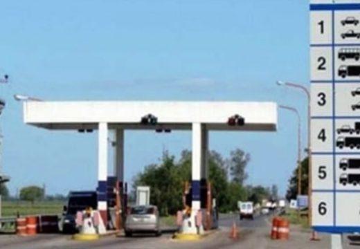 Aumenta el costo del peaje en rutas provinciales.