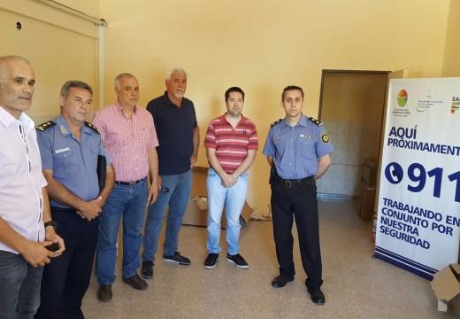 Cañada de Gómez. Leiva: «El 911 será una respuesta a nuestras constantes gestiones por más seguridad».