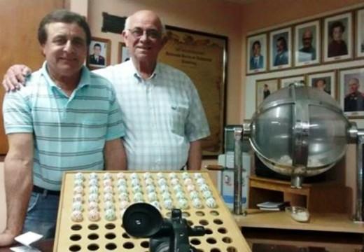 Ganadores de la Tómbola Solidaria Organizada por Bomberos Voluntarios.