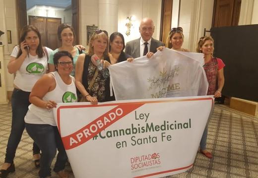Es ley el uso medicinal del Cannabis.