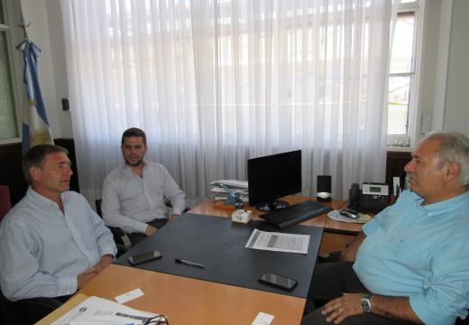 Gestiones del Intendente Compagnucci en el Ministerio de la Producción de la Nación.