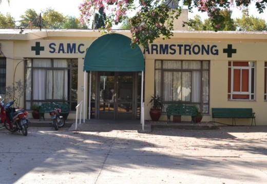 Armstrong tuvo una Navidad sin heridos por pirotecnia.