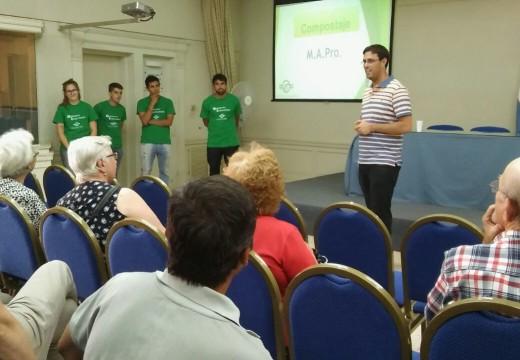 Se concretó charla sobre compost en nuestra ciudad.
