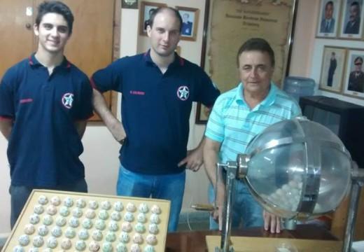 Ganadores del Sorteo de la Tómbola Solidaria Organizada por Asociación de Bomberos.