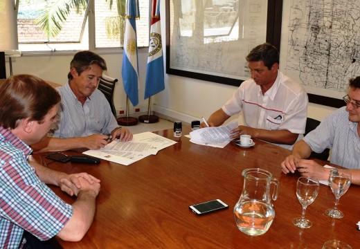 La provincia reconstruirá el terraplén de defensa en Montes de Oca.