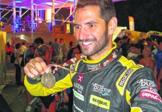 El parejense Facundo Ardusso completó su primer Dakar.