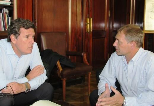 Positivo encuentro entre Compagnucci y el Secretario de Industria de Nación.