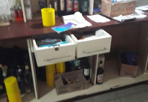 Ingresaron a robar (una vez mas) al bar de la Terminal de Omnibus de Armstrong.