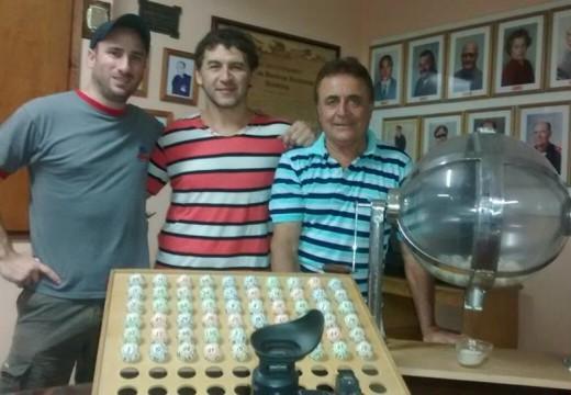 Ganadores del Sorteo N° 359 de la Tómbola Solidaria organizada por Bomberos.