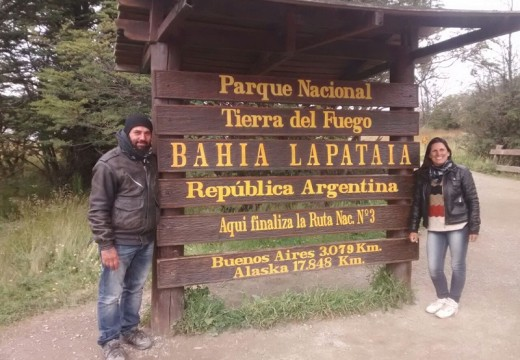 Desde Cañada al fin del mundo: 8789 KM en moto.