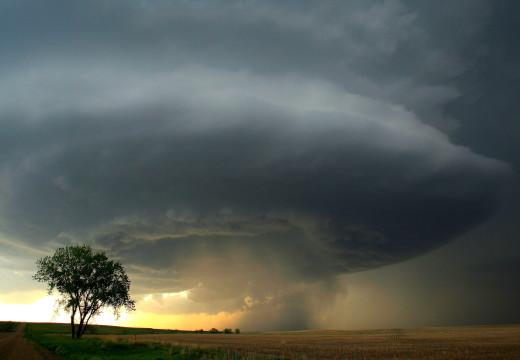 Alerta por tormentas fuertes hasta el mediodía.