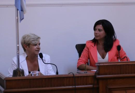 La intendenta Clérici abrió las sesiones ordinarias del concejo municipal.