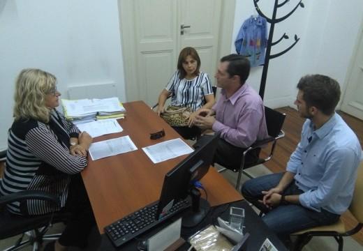 La Ministra Balagué recibió al Dr. Pablo Verdecchia.