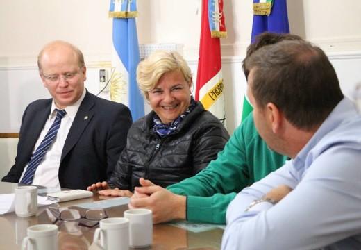 Cañada de Gómez. Autoridades municipales recibiran al Ministro de Producción.