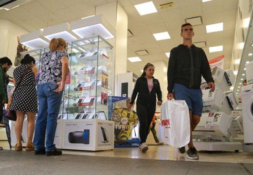 Las ventas minoristas cayeron 4,1% en febrero, según Came.
